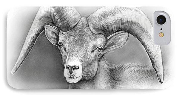 Bighorn Ram IPhone Case by Greg Joens