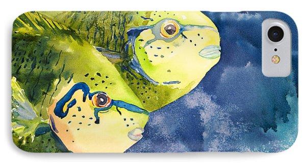 Bignose Unicornfish Phone Case by Tanya L Haynes - Printscapes
