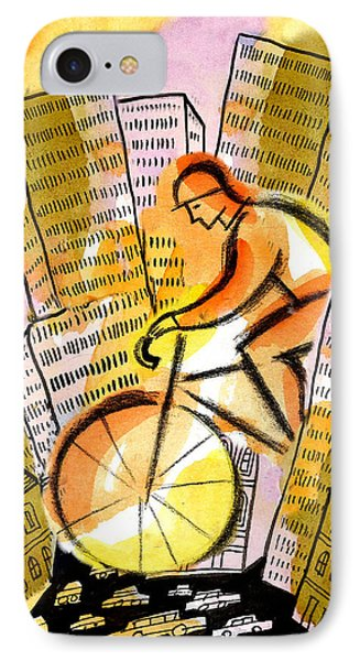 Bike And The City IPhone Case