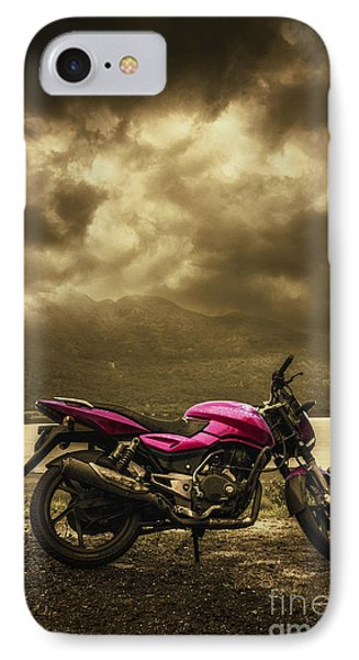 Bike IPhone Case by Charuhas Images