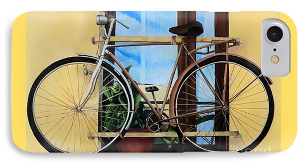 Bike In The Window IPhone Case