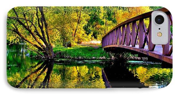 Bike Path Bridge IPhone Case