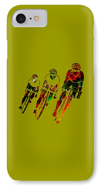 Bike Race IPhone Case by Marvin Blaine