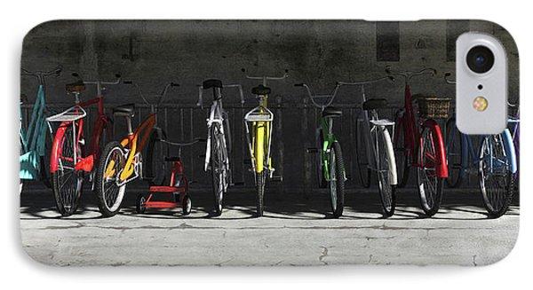 Bike Rack Phone Case by Cynthia Decker