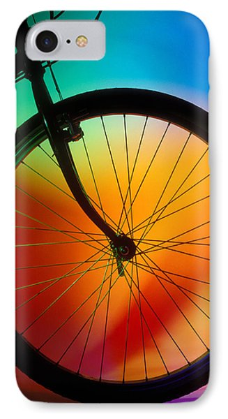 Bike Silhouette Phone Case by Garry Gay