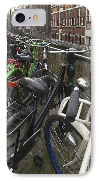 Bikes As Far As The Eye Can See Phone Case by Andy Smy