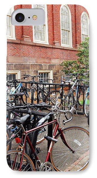 Bikes At Harvard IPhone Case