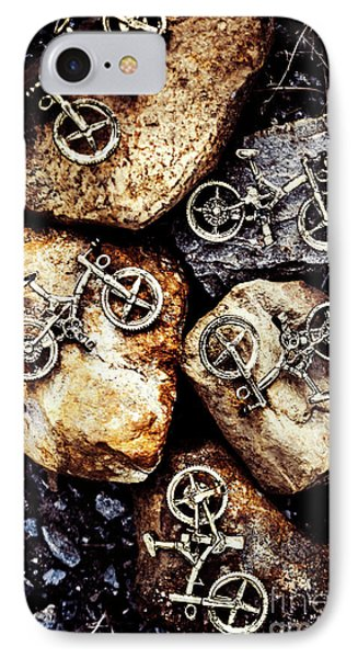 Biking Trail Scene IPhone Case by Jorgo Photography - Wall Art Gallery