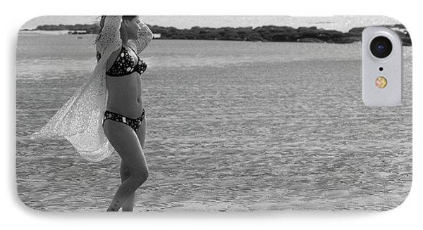 Bikini Girl IPhone Case by Kiran Joshi