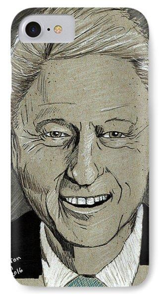 Bill Clinton IPhone Case