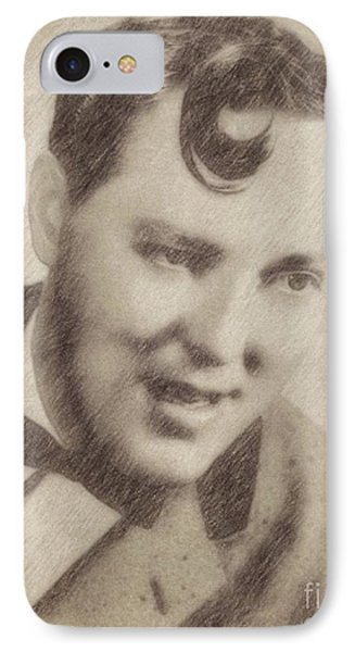 Bill Haley, Music Legend By John Springfield IPhone Case by John Springfield