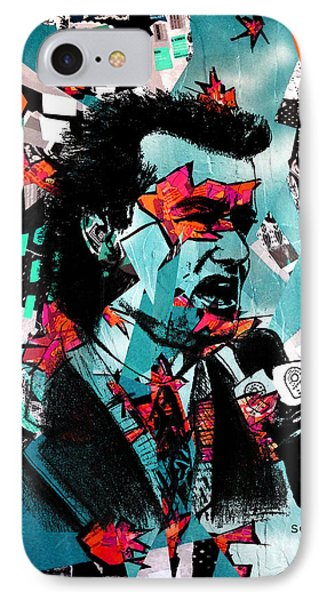 Bill Murray, City News - Og Spring Remix IPhone Case by Soma79