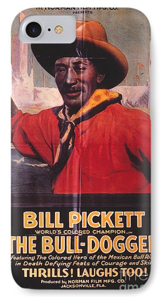 Bill Pickett (1870-1932) Phone Case by Granger