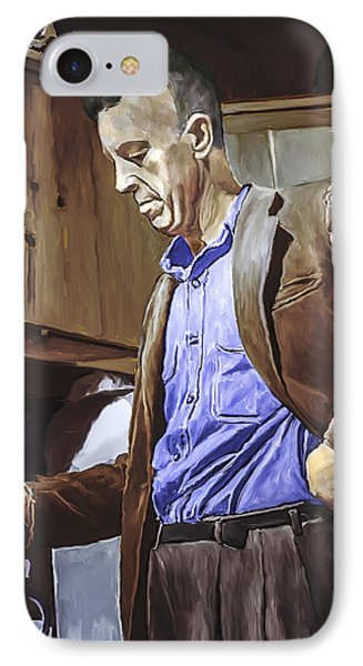 Bill Wilson IPhone Case by Rick Mosher
