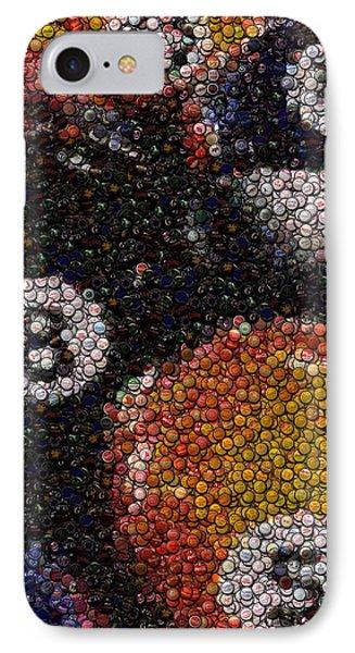 Billiard Ball Bottle Cap Mosaic Phone Case by Paul Van Scott