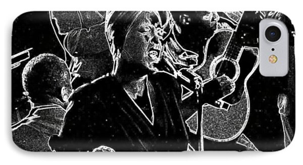 Billie Holiday IPhone Case by Charles Shoup