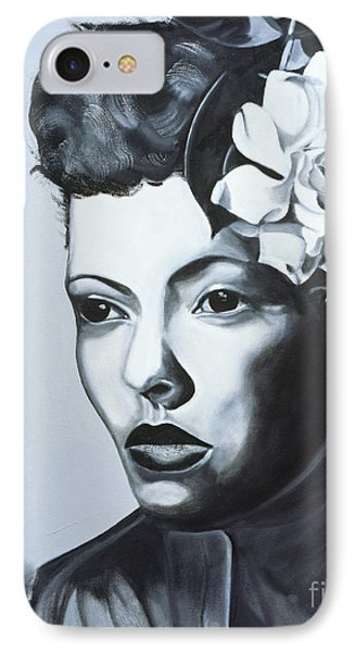 Billie Holiday IPhone Case by Kaaria Mucherera