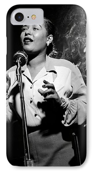 Billie Holiday  New York City Circa 1948 IPhone Case by David Lee Guss