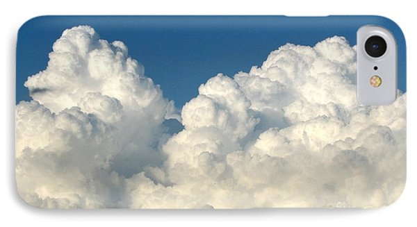 Billowing Clouds 1 IPhone Case by Rose Santuci-Sofranko