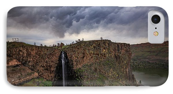 IPhone Case featuring the photograph Billy Chinook Falls by Cat Connor
