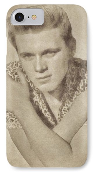 Billy Fury, Music Legend By John Springfield IPhone Case by John Springfield