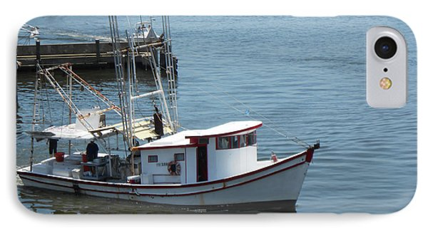 Bilouxi Shrimp Boat IPhone Case