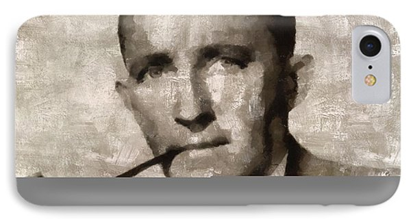 Bing Crosby, Singer And Actor IPhone Case by Mary Bassett