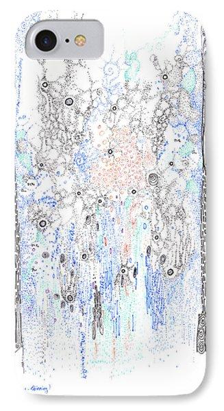 Bingham Fluid Or Paste IPhone Case by Regina Valluzzi