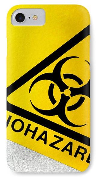 Biohazard Symbol Phone Case by Tim Vernon, Nhs Trust