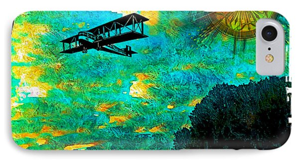Biplane IPhone Case by Iowan Stone-Flowers