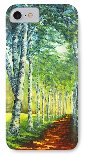 Birch Alee, St. Gaudens National Historic Site, Nh IPhone Case
