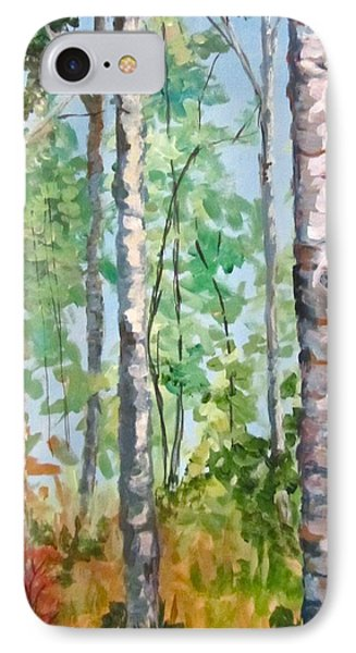 Birch IPhone Case by Barbara O'Toole