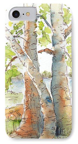 Birch Buddies IPhone Case by Pat Katz