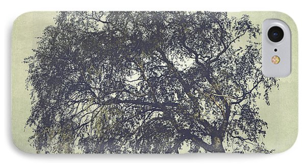 IPhone Case featuring the photograph Birch In The Mist by Ari Salmela
