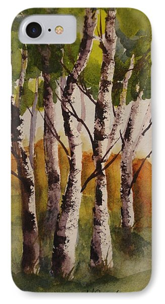 Birch IPhone Case by Marilyn Jacobson