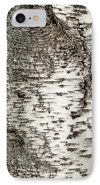IPhone 7 Case featuring the photograph Birch Tree Bark by Christina Rollo