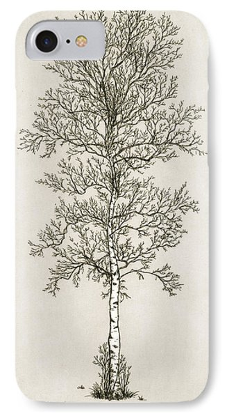 Birch Tree Phone Case by Charles Harden