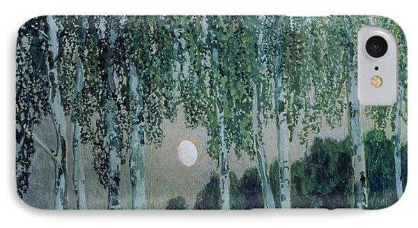 Birch Trees Phone Case by Aleksandr Jakovlevic Golovin