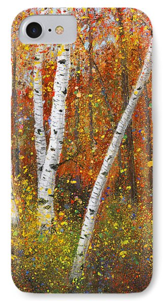 Birches IPhone Case by Garry McMichael