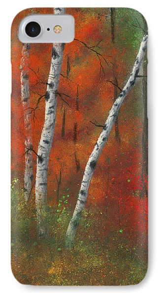 Birches II Phone Case by Garry McMichael
