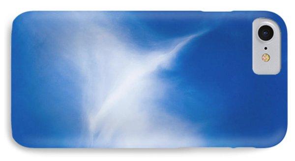 IPhone Case featuring the photograph Bird Cloud by Yulia Kazansky