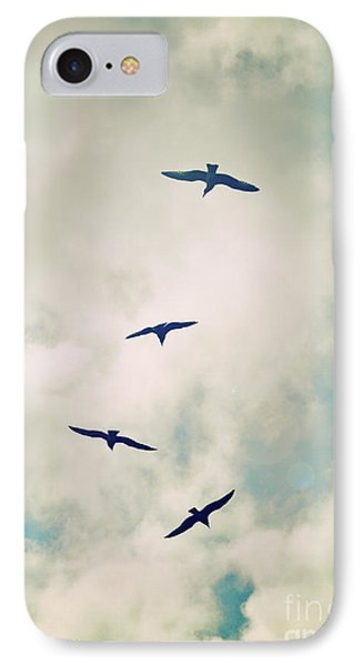 IPhone Case featuring the photograph Bird Dance by Lyn Randle