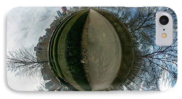 Bird Eye View In Chicago IPhone Case by Britten Adams