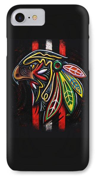 Bird Head Phone Case by Michael Figueroa