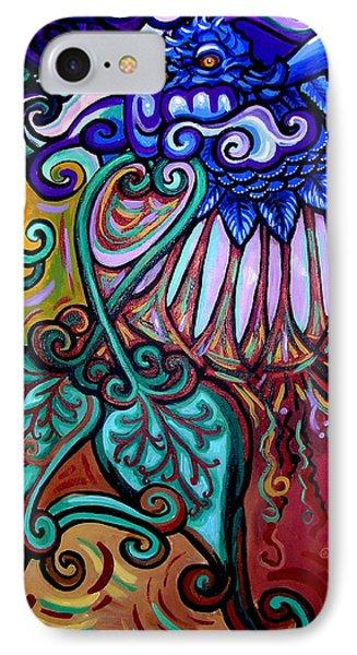 Bird Heart IIi IPhone Case by Genevieve Esson