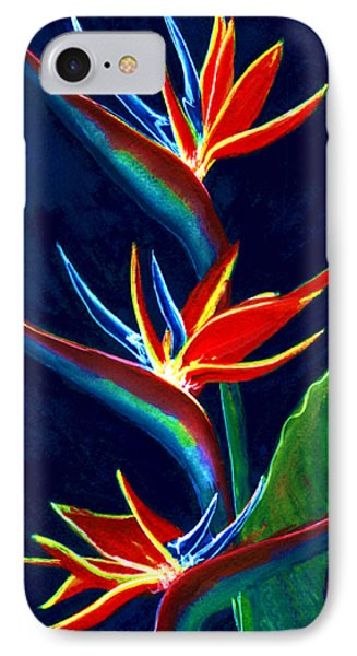 Bird Of Paradise #161 Phone Case by Donald k Hall