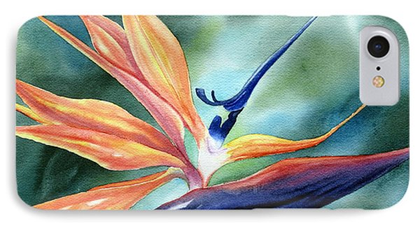 Bird Of Paradise Phone Case by Deborah Ronglien