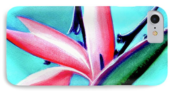 Bird Of Paradise Flower #290 Phone Case by Donald k Hall