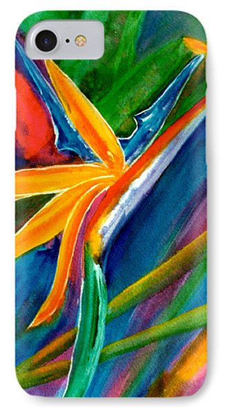 Bird Of Paradise Flower #66 Phone Case by Donald k Hall