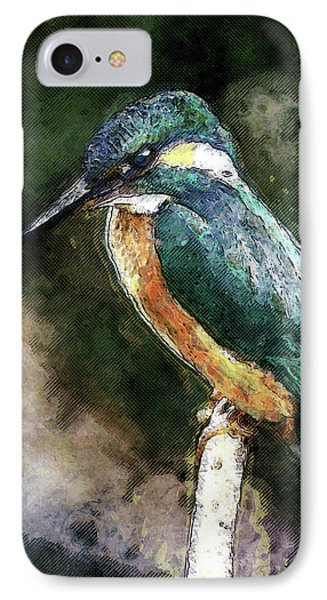 Bird On A Branch IPhone Case by Phil Perkins